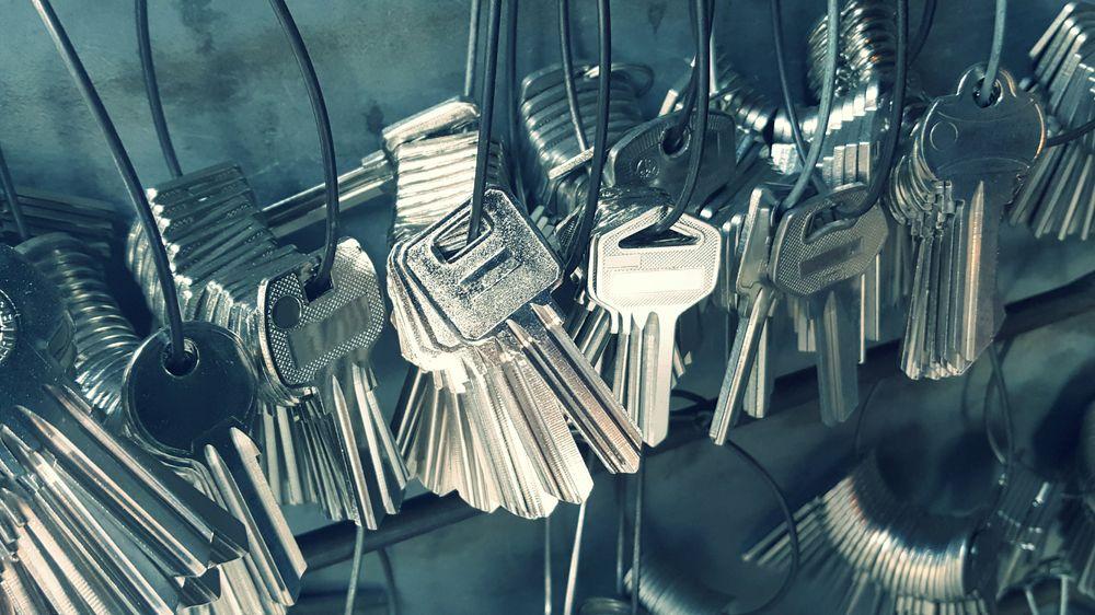 pęk kluczy